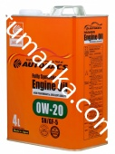 Масло моторное Autobacs Engine oil 0W-20 4л SN/GF-5
