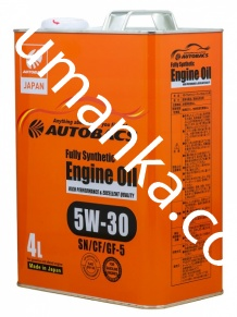 Масло моторное Autobacs Engine oil 5W-30 4л